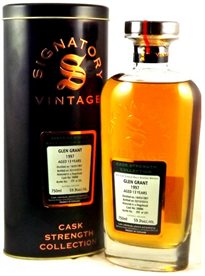 Glen Grant Scotch Single Malt 1997 Cask Strength Bottled...